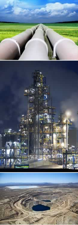 Projects - Human Health Risk Assessment - Gas Plant - Pipeline